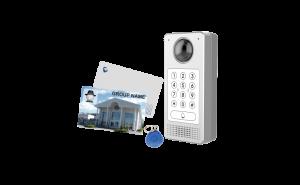 Build Access Control - Door Access Control - HDMI 180° camera : RFID reader