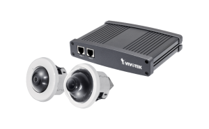 Standard Cameras - Discrete recessed kit (dome & 360°) - includes microphone